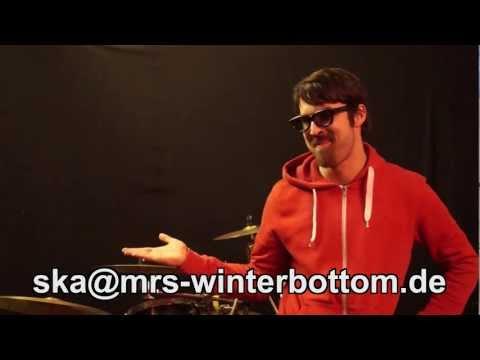 Mrs. Winterbottom sucht Schlagzeuger/in