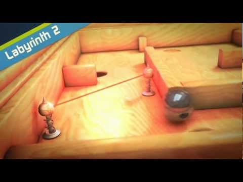 Labyrinth2 for Android by Illusion Labs - Announcement trailer