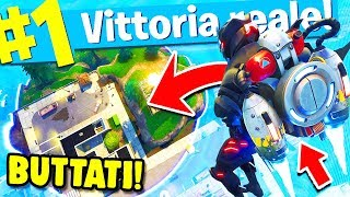 SUPER BATTLES WITH THE NEW JETPACK, ROYAL VICTORY!! Fortnite ITA