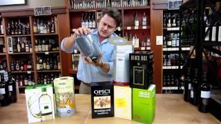 Wine In A Box, Or Wine In A Bag In A Box (bib) Information