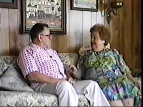 Audrey Mieir & Wendell St. Clair by Ken Bertwell Rare Home Video Interview-Pt. 1