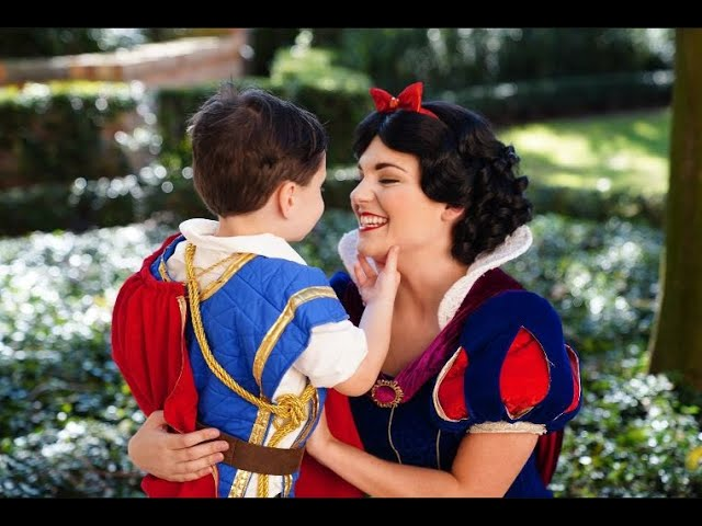 This boy with autism completely opens up and has the sweetest reactions around Disney princesses