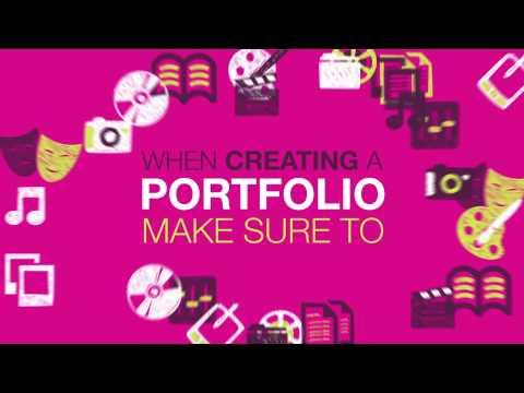 What is a portfolio - English