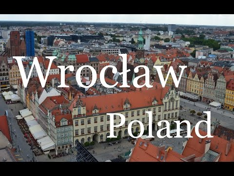 The Old Town in Wrocław (Poland)
