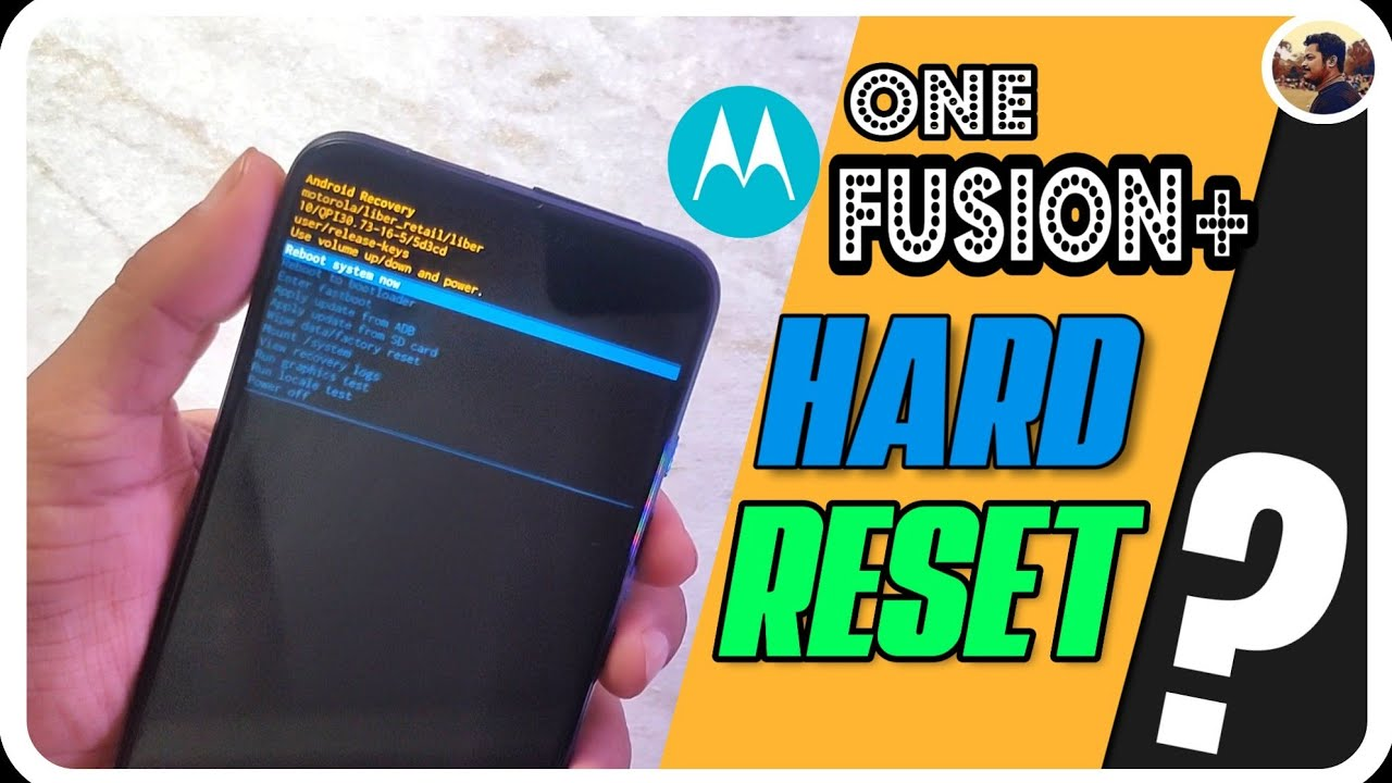 How to Hard Reset Motorola One Fusion+? [ Hindi ] | Android One Devices