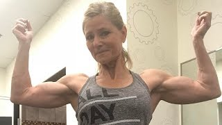 59 years young Patty Jackson - Female muscle