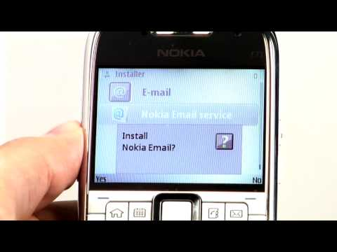 Nokia E71 - Messaging Tutorial