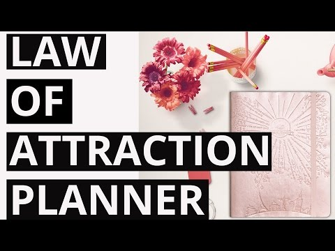 My New Law of Attraction Planner Obsession for 2017!