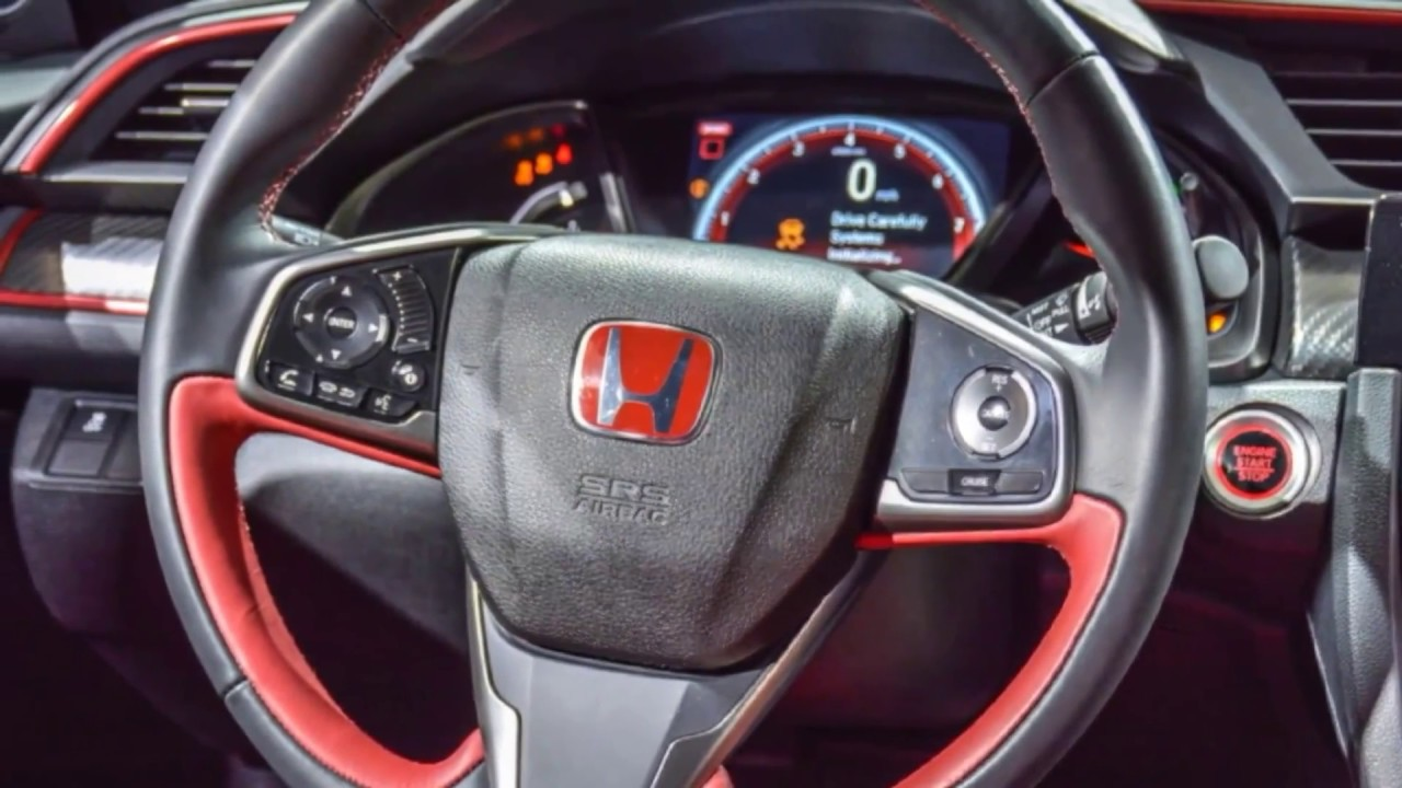 honda civic type r 2017 interior youtube. Black Bedroom Furniture Sets. Home Design Ideas