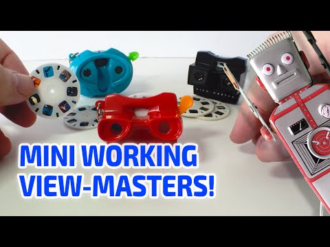 MINI WORKING VIEW-MASTER TOYS!! Really work like the real thing!