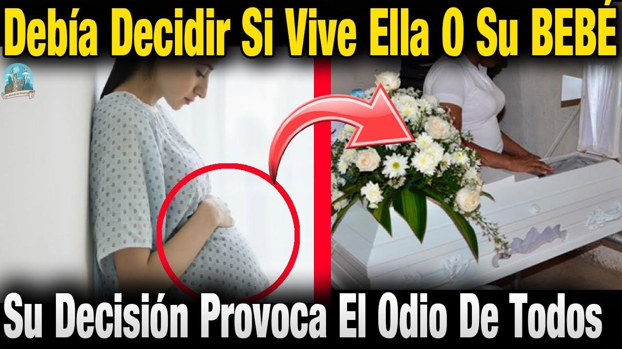 Doctor Advierte A Embarazada Que Debe Elegir Si Vive Ella O Su B3B3. Su Decisión Es Espeluznante