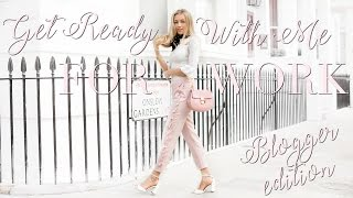GET READY WITH ME FOR WORK | BLOGGER/YOUTUBER EDITION | Freddy My Love