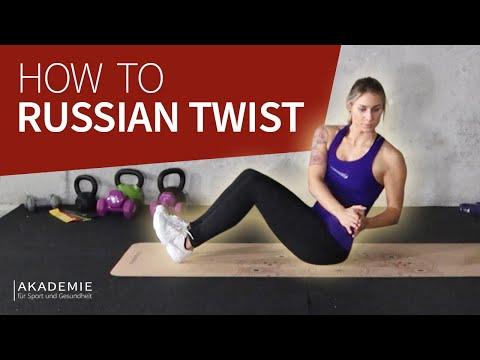 How to: Russian Twist   Russian Twists richtig ausführen