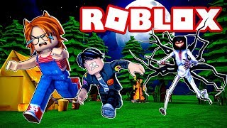 *NEW* SURVIVE CAMPSITE 2 MONSTER on ROBLOX 😱
