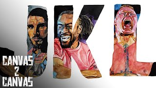 The ABCs of WWE -- Johnny Gargano, Kofi Kingston & Brock Lesnar: WWE Canvas 2 Canvas