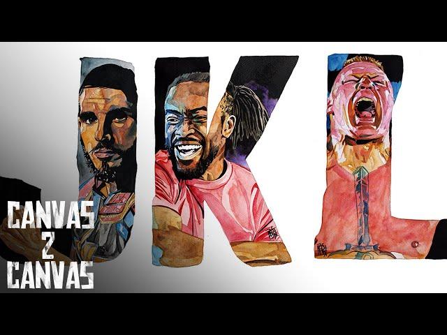 The ABCs of WWE -- Johnny Gargano, Kofi Kingston & Brock Lesnar: WWE Canvas 2 Canvas