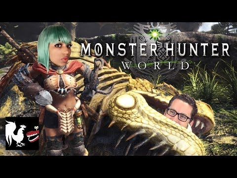 Game Time: Monster Hunter World with Mica Burton | Rooster Teeth thumbnail