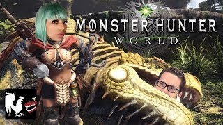 Game Time: Monster Hunter World with Mica Burton | Rooster Teeth
