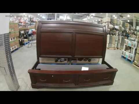 Costco Storage Bed King Size Only 599, Universal Broadmoore Furniture Reviews