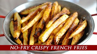 ¨Better than Fried¨ Oven-Baked Crİspy French Fries