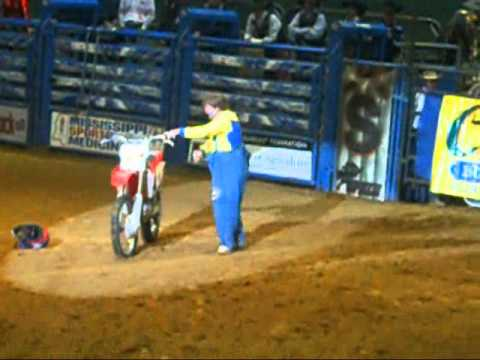DIXIE NOTIONAL RODEO JACKSON MISSISSIPPI 2011 ME AND MY MOM