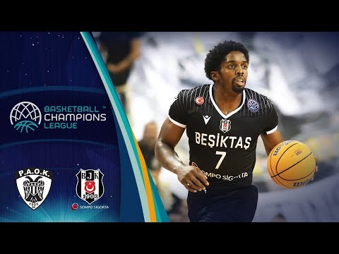 PAOK v Besiktas Sompo Sigorta - Highlights - Basketball Champions League 2019-20