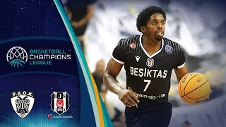 PAOK v Besiktas Sompo Sigorta - Highlights - Basketball Champions League 2019-20