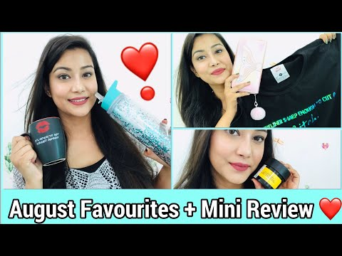 August Monthly Favourites + Review | Cherry's world |