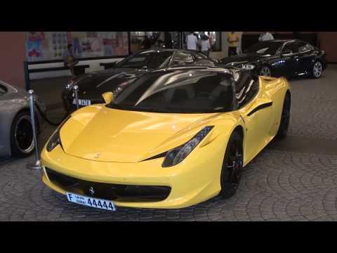 Ferrari 458 Italia yellow - 44444