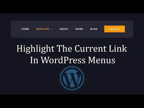 Current-menu-item для каждого элемента wordpress