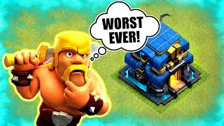 WEIRDEST TOWN HALL 12 BASE EVER!? - ROAD TO MAX LEVEL! - Clash Of Clans