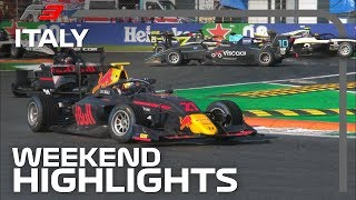 Formula 3 Round 7 Highlights | 2019 Italian Grand Prix