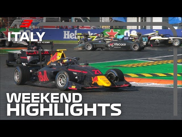 Formula 3 Round 7 Highlights | 2019 Italian Grand Prix