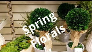 Shop with me Home Goods for Spring Floral