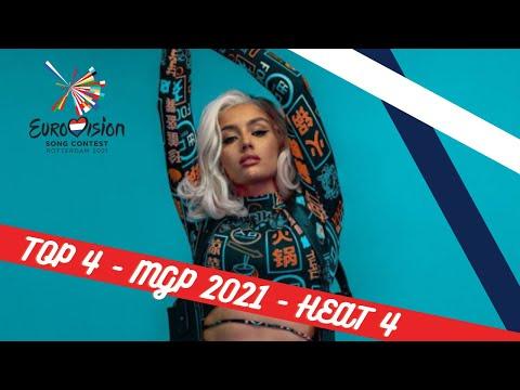 TOP 4 - HEAT 4   MELODI GRAND PRIX 2021   EUROVISION 2021   NORWAY ??