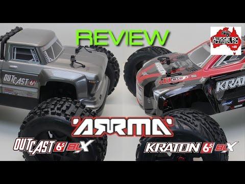 Review: Kraton V2 and OutCast 6S BLX