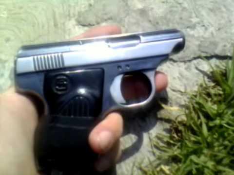 pistola 22 cal muy buena demo TOP SHOT