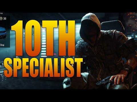 BLACK OPS 3 10TH SPECIALIST = BLACK MARKET GUY!