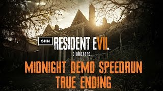 Resident Evil 7 Beginning Hour Midnight True Ending  Speedrun World Record?????