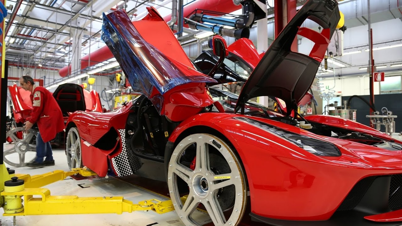 Car Assembly Lines Documentary - How Cars Are Built And Assembled - YouTube