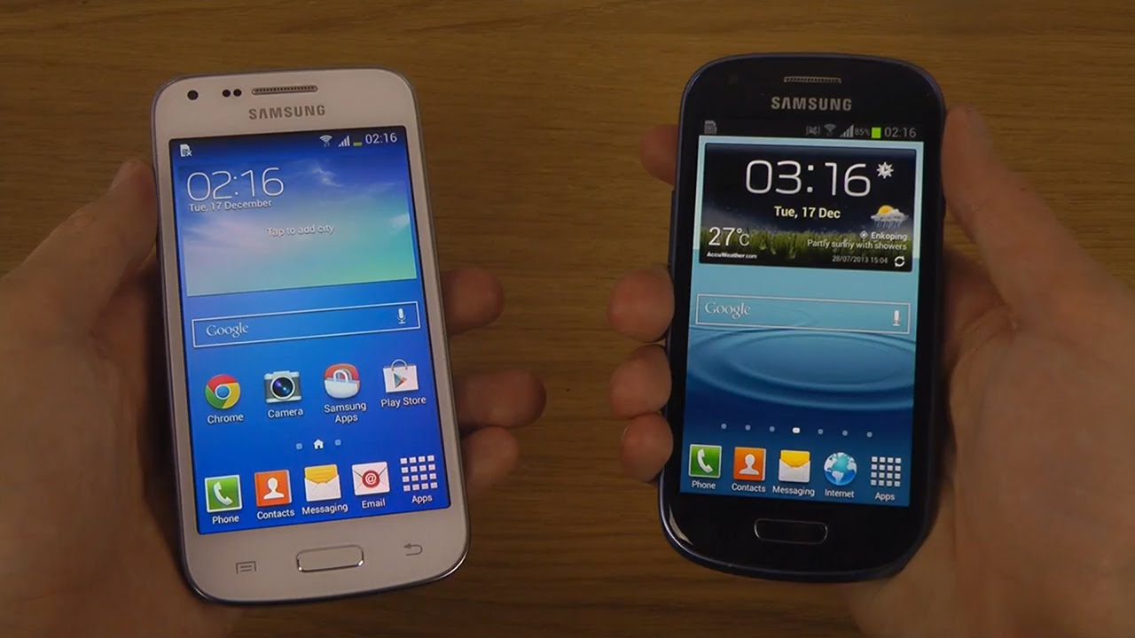 Samsung Galaxy Core Plus vs. Samsung Galaxy S3 Mini - Which Is ...