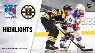 Rangers @ Bruins 5/6/21 | NHL Highlights