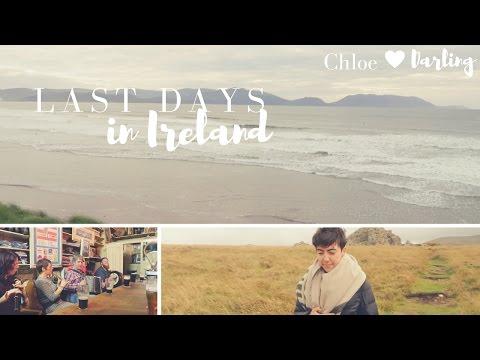 LAST FEW DAYS IN IRELAND | Chloe Darling