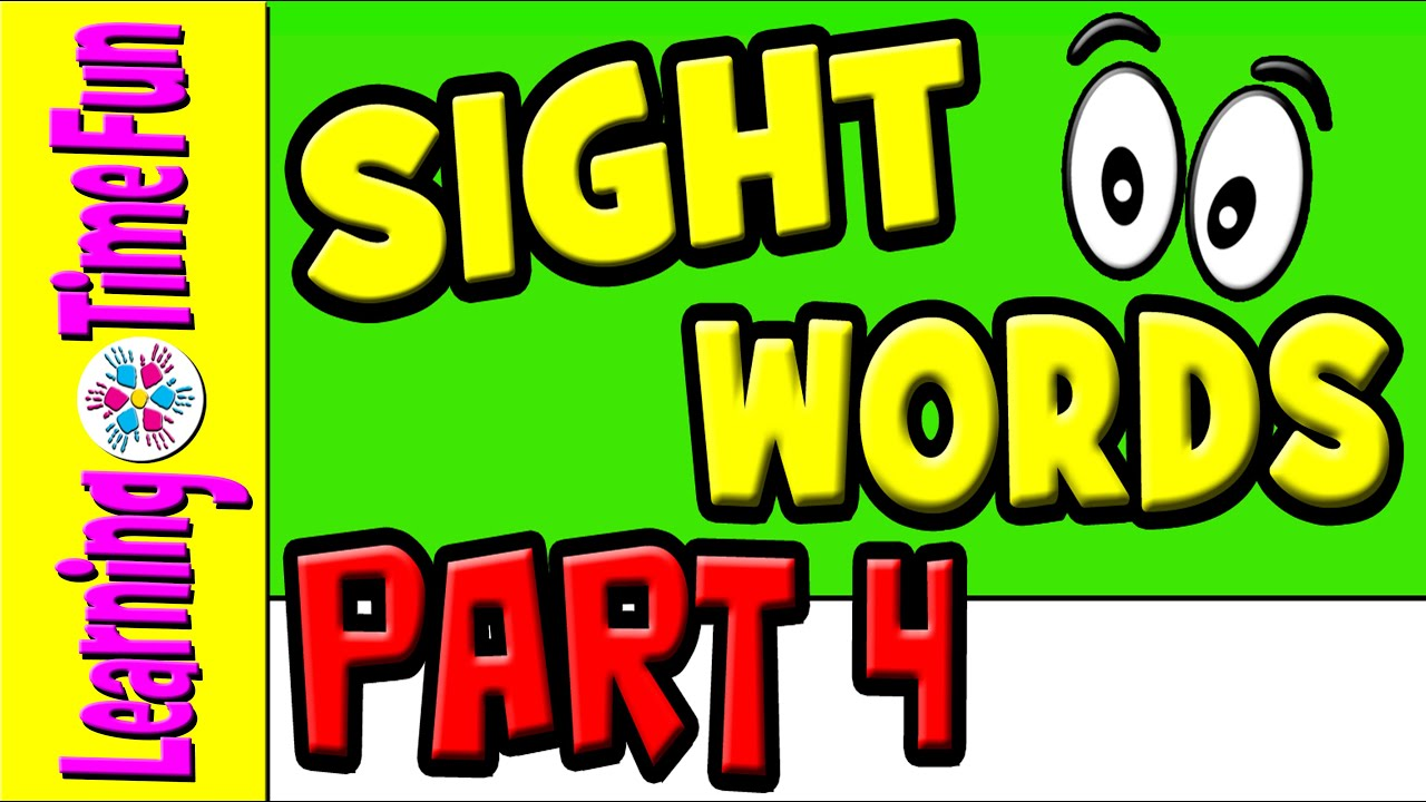 sight words for kids learn sight words children learning