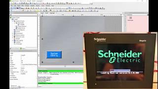 Vijeo Designer Tutorial #4 (Majelis HMI) How to Create Your Project & Download it to the HMI