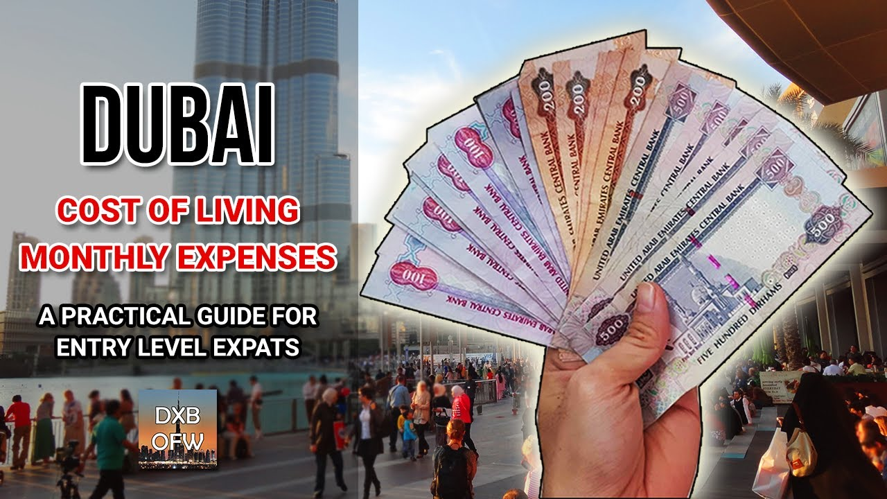 Cost of Living and Monthly Expenses in Dubai: An Honest and