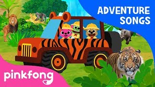 Jungle Adventure | Adventure Songs | Pinkfong Songs for Children