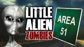 LITTLE ALIEN ZOMBIE SURVIVAL (Call of Duty Custom Zombies)