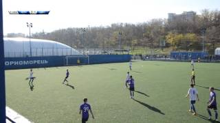 ДЮСШ 11 - Черноморец 3:1 ФК Одесса (2 тайм)