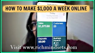 """How To Make Money Online Fast 2018 """"How to Work From Home"""" Get Paid Daily"""